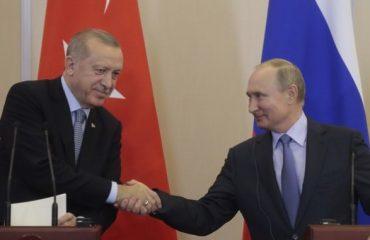 Τουρκία: Συνομίλησαν για όλα Erdogan και Putin