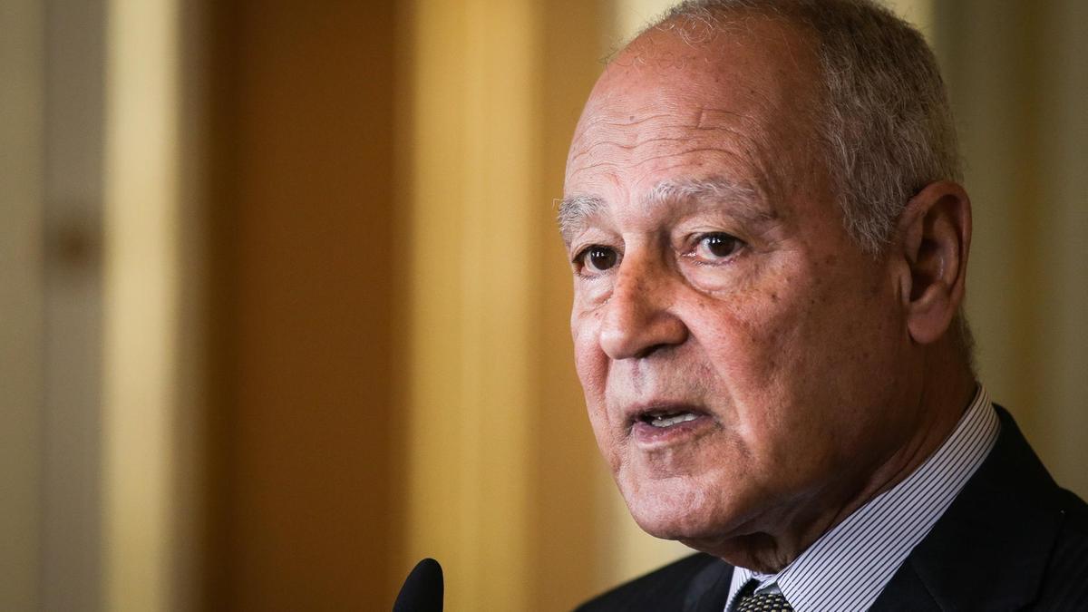 Συνάντηση του πρωθυπουργού Κυριάκου Μητσοτάκη με τον Γενικό Γραμματέα του Αραβικού Συνδέσμου