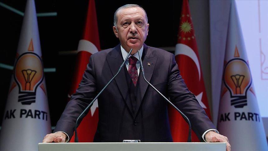 Erdogan: Το αντιτρομοκρατικό μας έργο εντός κι εκτός δεν έχει ακόμα ολοκληρωθεί