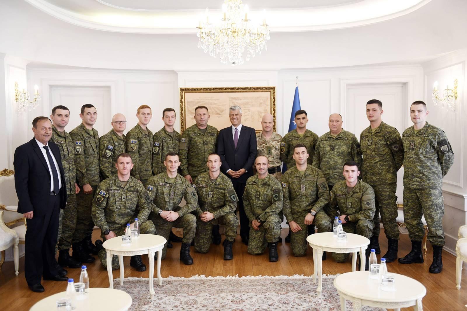 Thaçi: Οι δυνάμεις ασφαλείας του Κοσσυφοπεδίου είναι ένας σύγχρονος στρατός