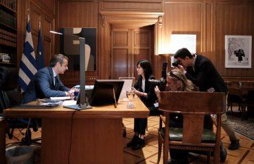 Κυριάκος Μητσοτάκης: νέος κύκλος επενδύσεων της COSCO στο λιμάνι του Πειραιά
