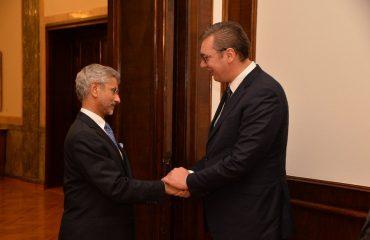 Η οικονομική συνεργασία βρέθηκε στο επίκεντρο της συζήτησης Vucic Ινδού ΥΠΕΞ