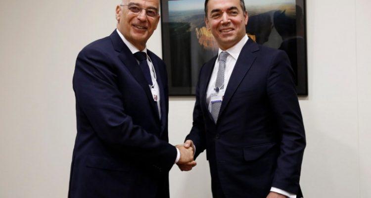 Εντατικοποίηση της διμερούς συνεργασίας συμφώνησαν Δένδιας Dimitrov