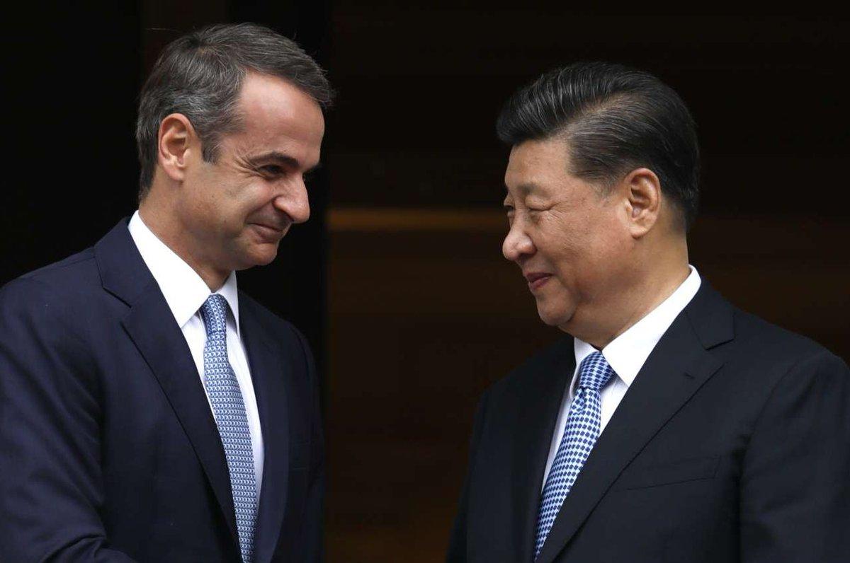Κοινή Διακήρυξη Ελλάδας Κίνας
