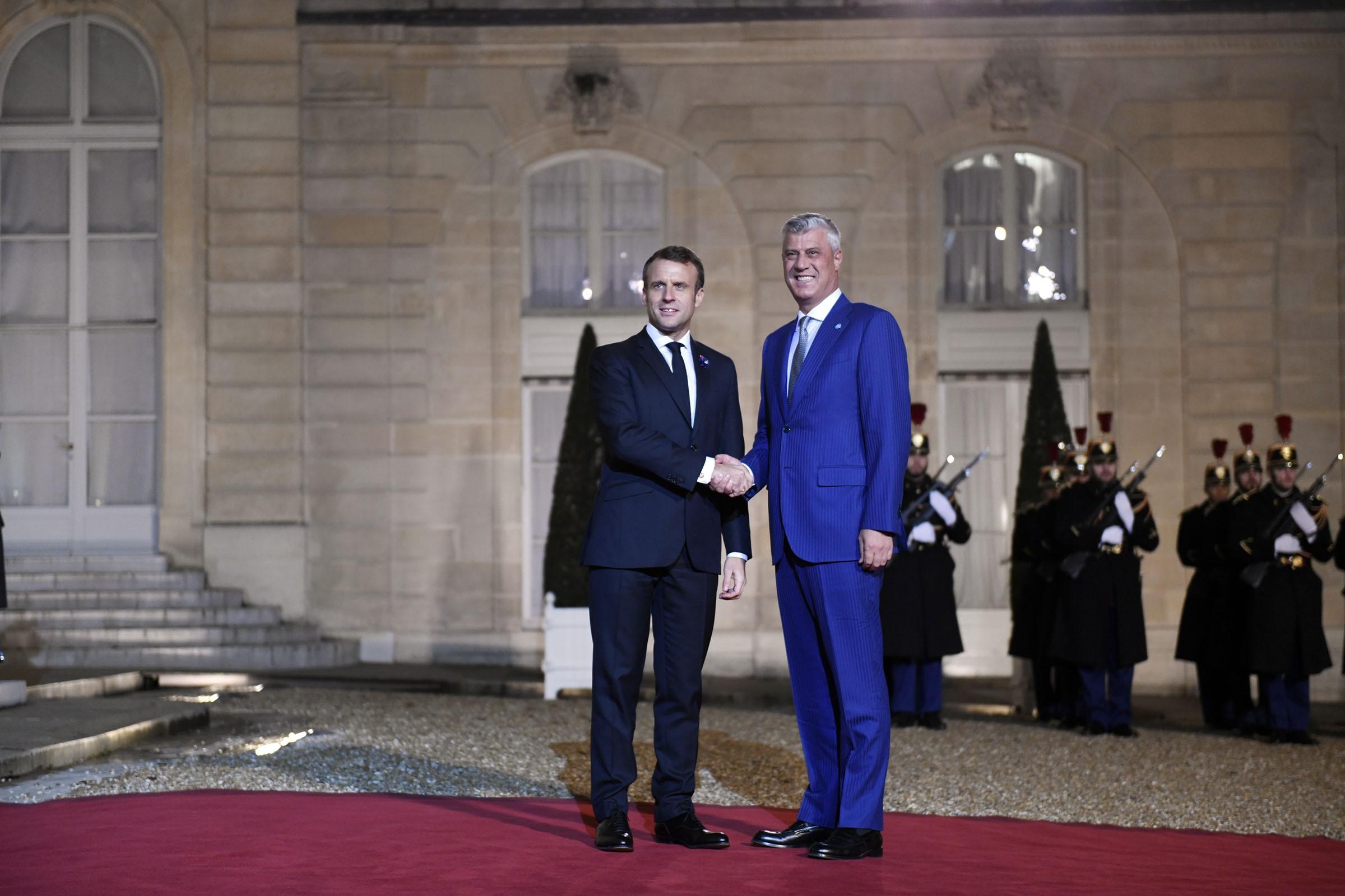 Συνάντηση Thaçi, Macron: Το Κοσσυφοπέδιο είναι έτοιμο για μια Ειρηνευτική Συμφωνία