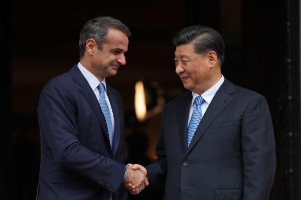 Στις δεκαέξι συμφωνίες που συνπέγραψαν Μητσοτάκης, Xi Jinping αναφέρθηκε ο κυβερνητικός εκπρόσωπος