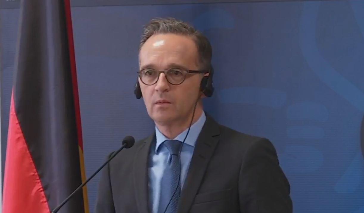 Τη γερμανική στήριξη στη Βόρεια Μακεδονία στο δρόμο προς την ΕΕ εξέφρασε ο Γερμανός ΥΠΕΞ