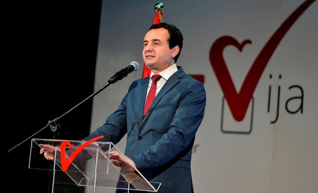 Ο Albin Kurti αντίθετος στην ιδέα μιας Mini-Schengen για τα Βαλκάνια