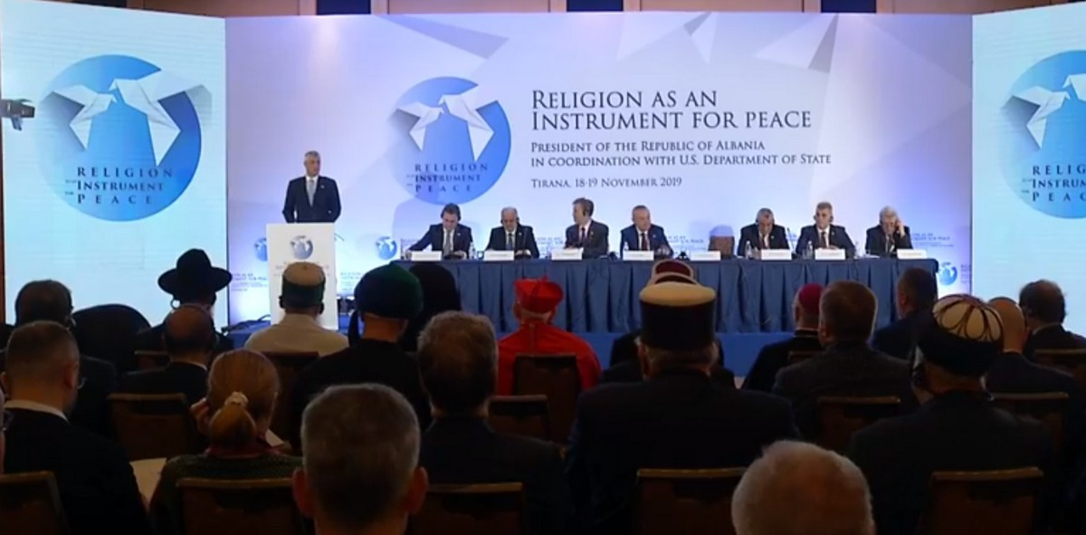 Thaçi: Στην υπηρεσία της ενίσχυσης της ειρήνης και της ανεκτικότητας η θρησκεία στο Κοσσυφοπέδιο