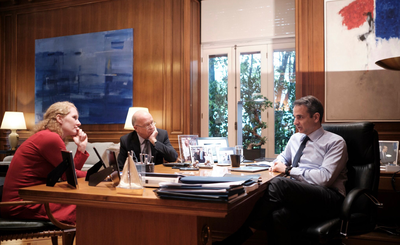 Συνεχίζει την δυσφήμιση της χώρας ο Κυριάκος Μητσοτάκης με νέα συνέντευξη στην Handelsblatt