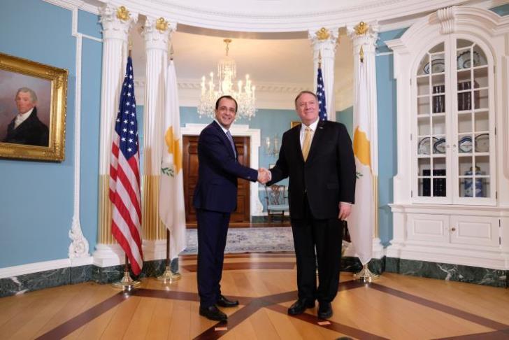 Ενισχυμένες οι σχέσεις Κύπρου – ΗΠΑ