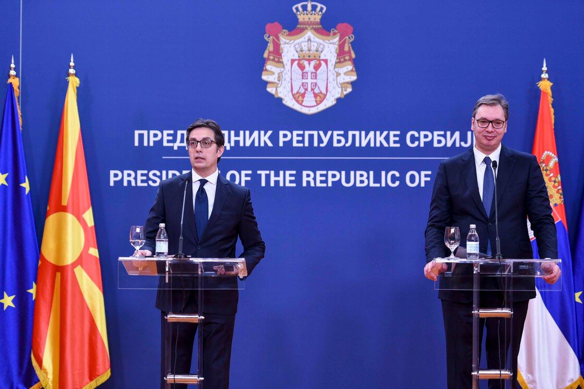 Σε ανοδική πορεία οι σχέσεις Σερβίας-Βόρειας Μακεδονίας