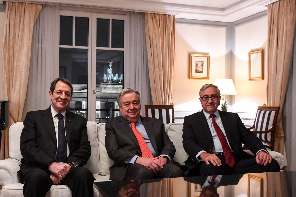 Δήλωση του Γενικού Γραμματέα του ΟΗΕ για την Κύπρο