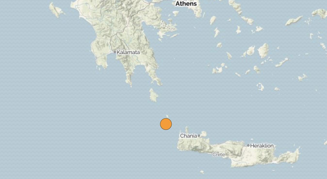 Ελλάδα: Σεισμός 6,1 χτύπησε νότια της Πελοποννήσου