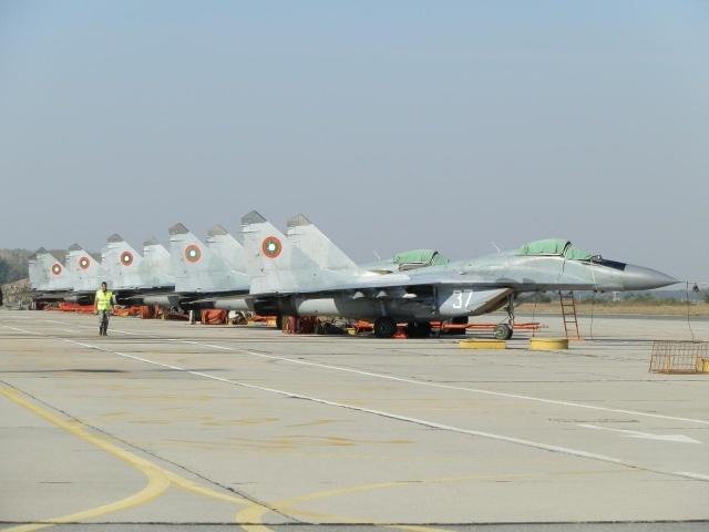 Η Βουλγαρία θα διαθέσει 8.2 εκατομμύρια ευρώ για την αναβάθμιση των μαχητικών MiG-29