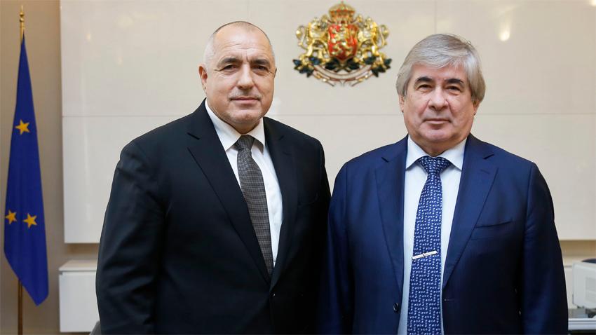 Ο πρωθυπουργός της Βουλγαρίας Borissov συναντήθηκε με τον Ρώσο πρέσβη στη Σόφια