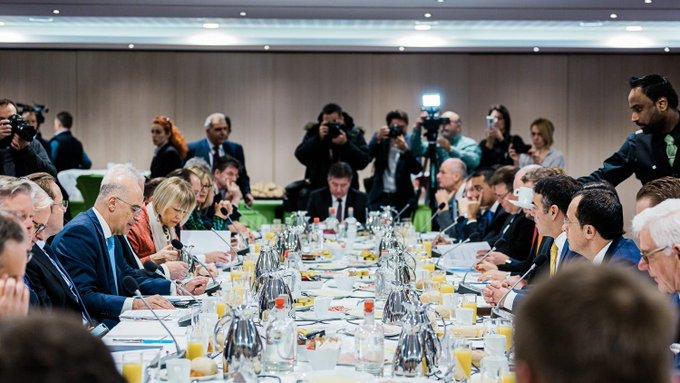 Δένδιας: Εργαζόμαστε για μια θετική εξέλιξη στην ευρωπαϊκή πορεία Βόρειας Μακεδονίας και Αλβανίας