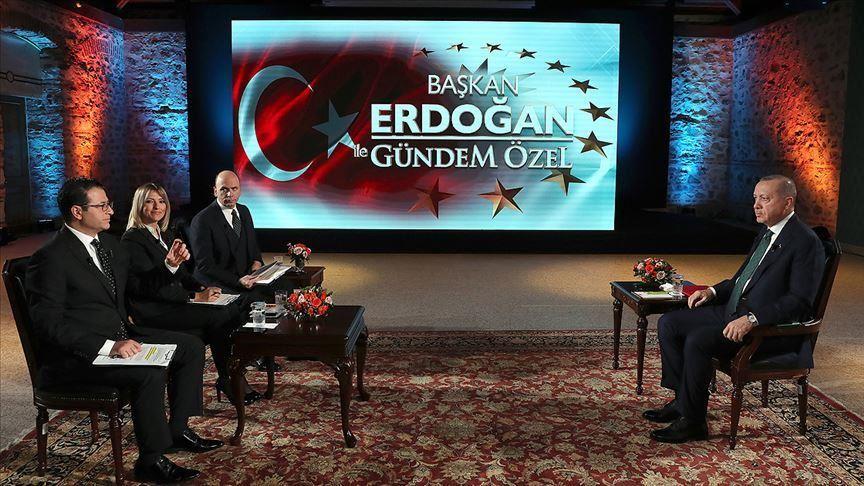 Ο Erdogan ανακοίνωσε έρευνες και γεωτρήσεις νότια του Καστελόριζου