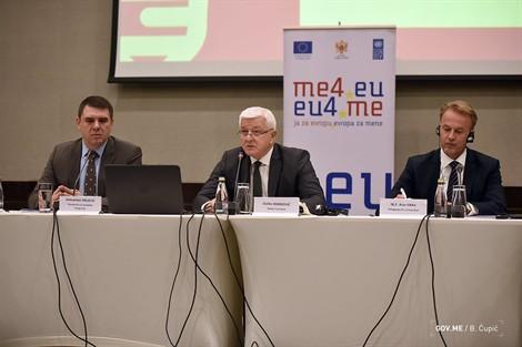 Marković: Το Μαυροβούνιο δεσμεύεται να εκπληρώσει τις υποχρεώσεις του στο πλαίσιο της ευρωπαϊκής ατζέντας