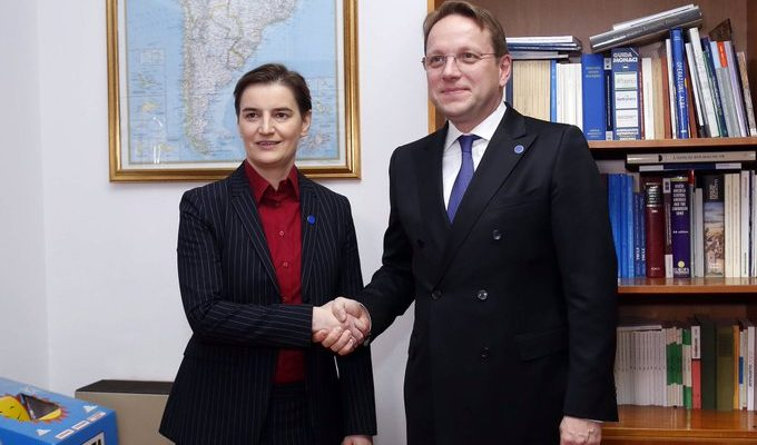 Brnabic: Έφερε νέα ενέργεια η νέα Ευρωπαϊκή Επιτροπή για τη διεύρυνση
