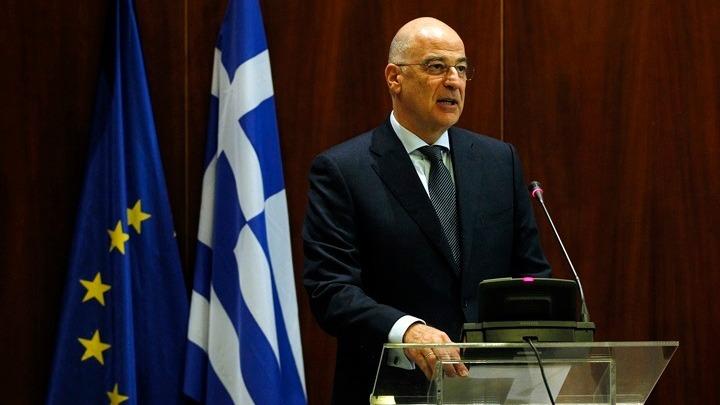 Σαφή μηνύματα Δένδια σε όσους σφετερίζονται ή παραβιάζουν την εθνική κυριαρχία της Ελλάδας