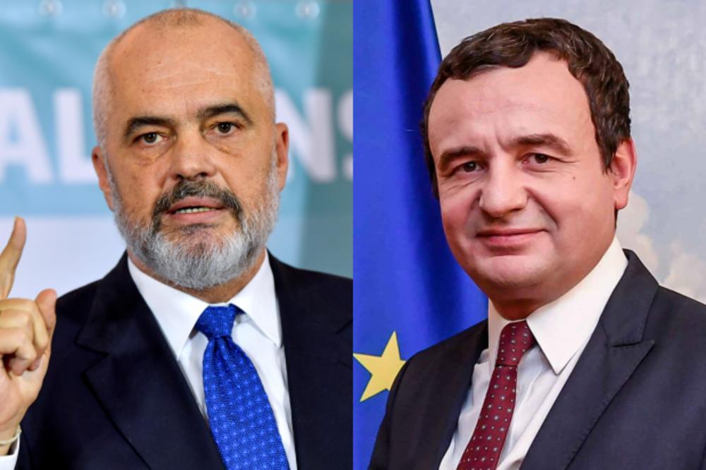 Kurti: Η συνεργασία Κοσσυφοπεδίου Αλβανίας θα προχωρήσει στο βαθμό που το έθνος μας επιθυμεί