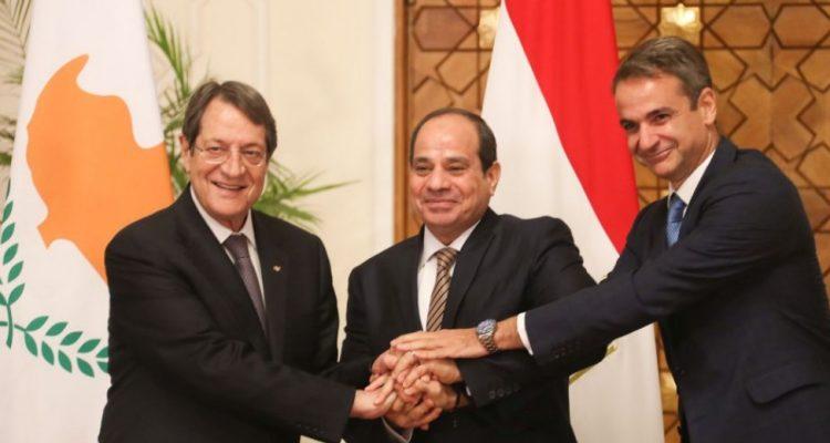 Κύπρος: Αποφασισμένες για την Ειρήνη και τη σταθερότητα στην Περιοχή Κύπρος, Ελλάδα και Αίγυπτος