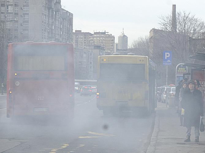 Σερβία: Στο κόκκινο η ατμοσφαιρική ρύπανση στο Βελιγράδι