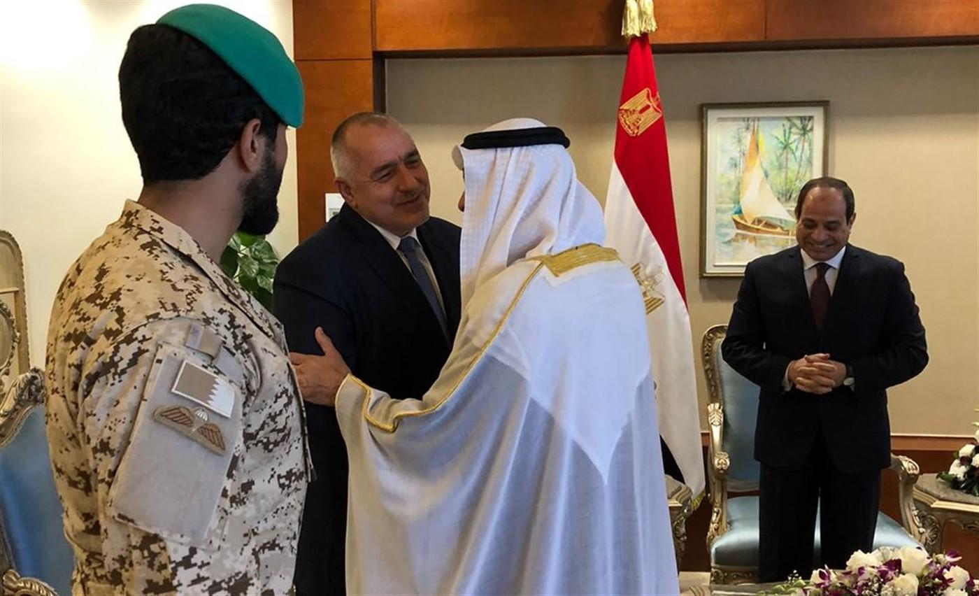 Με τον Σεΐχη Zayed al-Nahyan συναντήθηκε ο Βούλγαρος Πρωθυπουργός