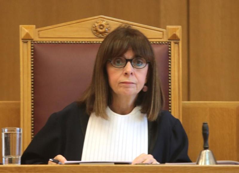 Την Πρόεδρο του ΣτΕ, Α. Σακελλαροπούλου προτείνει ο Μητσοτάκης για ΠτΔ