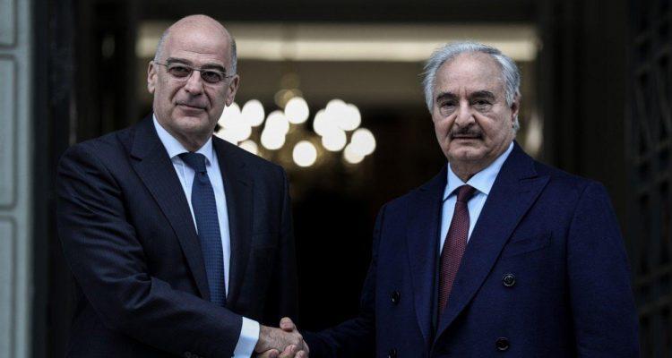 Πώς σχολιάζει ο ΣΥΡΙΖΑ την επίσκεψη Χάφταρ στην Αθήνα