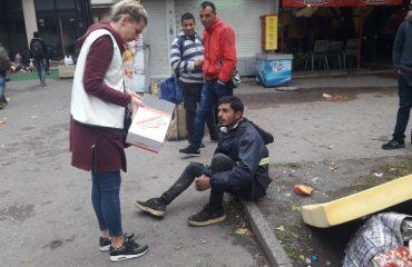 Ερυθρός Σταυρός: Περίπου 3.000 μετανάστες χωρίς στέγη στη Β-Ε