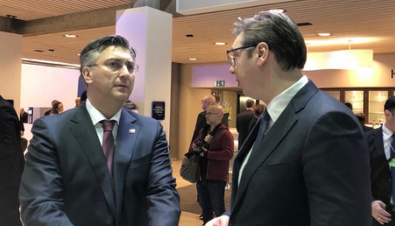 Ο Vučić ευχήθηκε στον Plenković να αναρρώσει γρήγορα από τον κορωνοϊό