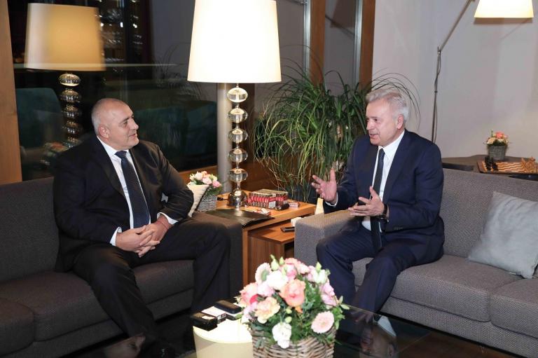 Συνάντηση Borissov με τον Πρόεδρο της Lukoil