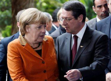Συνομιλία Αναστασιάδη – Μέρκελ ενόψη της επίσκεψής της στην Άγκυρα