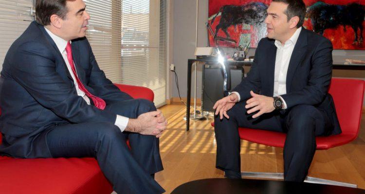 Για την προσφυγική κρίση συζήτησαν Τσίπρας και Σχοινάς εν μέσω σφοδρών αντιδράσεων