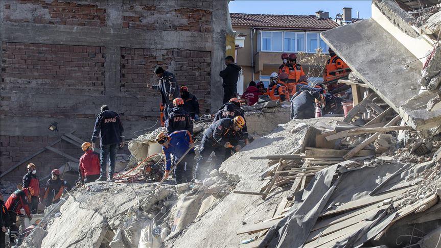 Τουρκία: Στους 31 οι νεκροί και πάνω από 1500 οι τραυματίες του σεισμού της Παρασκευής