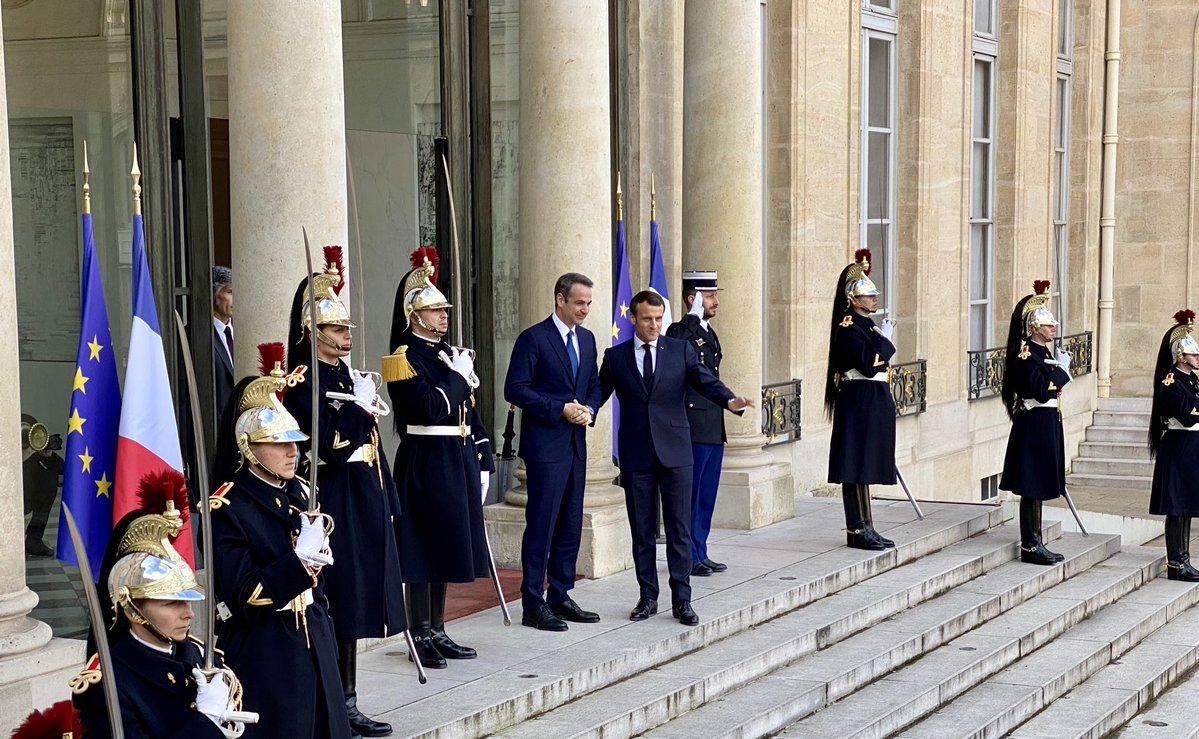 Ελλάς Γαλλία Εταιρική Στρατηγική Σχέση