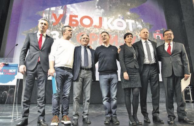 Σερβία: Επισήμως η αντιπολίτευση μποϊκοτάρει της εκλογές