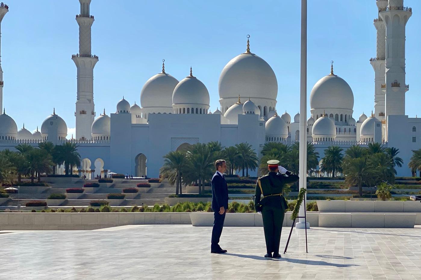 Ολοκληρώθηκε με σειρά επαφών στο Άμπου Ντάμπι η επίσκεψη εργασίας Μητσοτάκη στην Αραβική Χερσόνησο