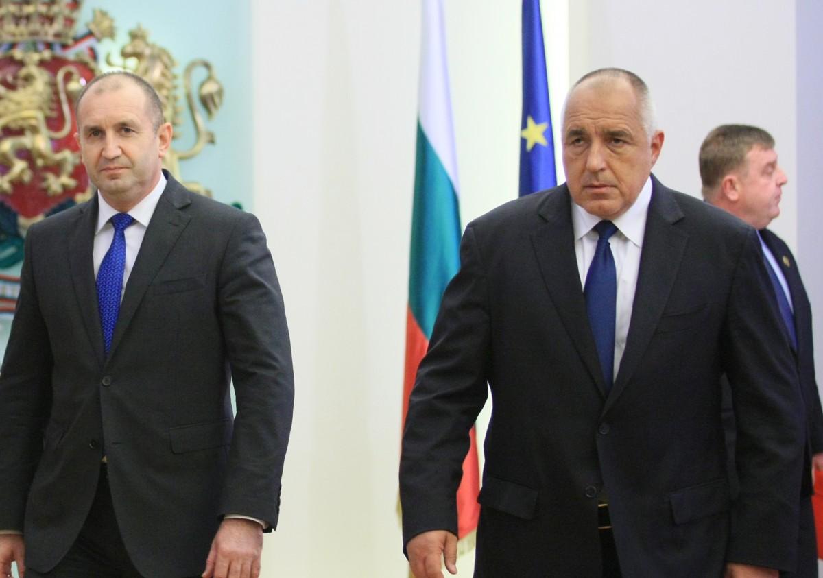 Βουλγαρία: Θεσμική σύγκρουση Radev-Borissov