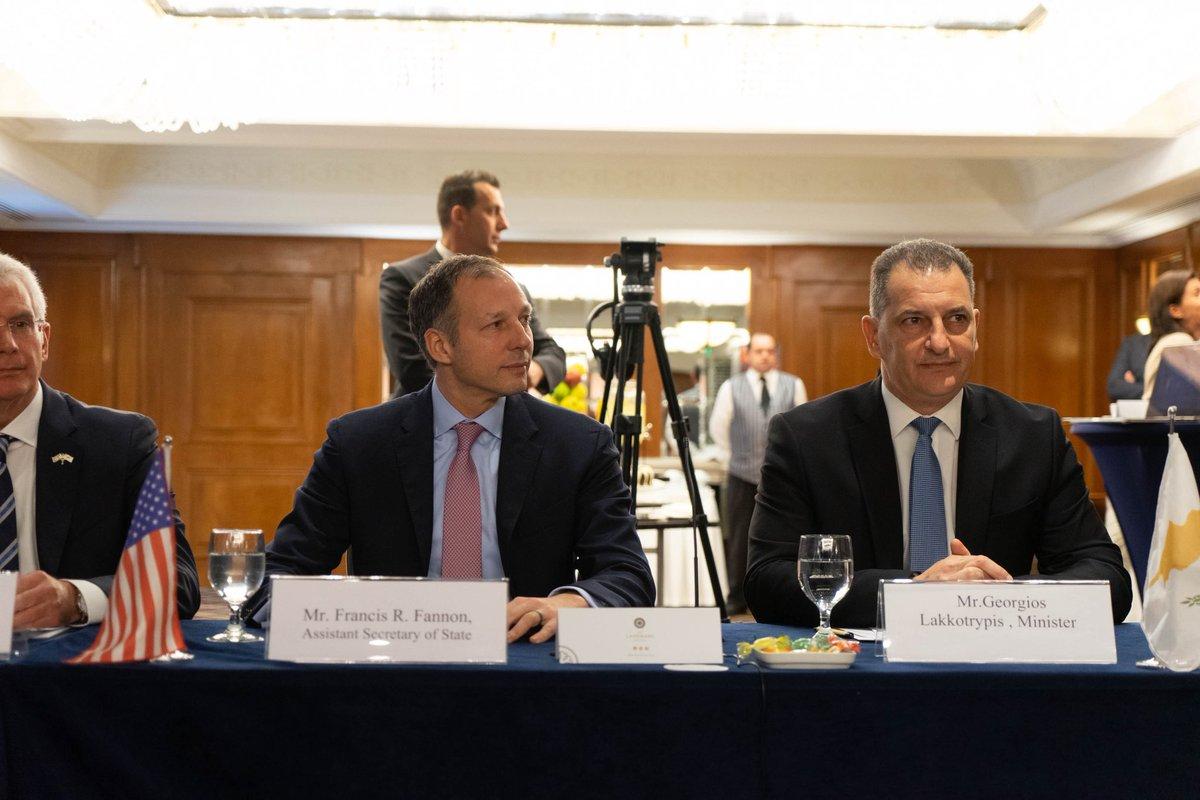 Κύπρος: Λακκοτρύπης και Fannon χαιρέτισαν την έναρξη εργασιών της πρώτης Τεχνικής Επιτροπής 3+1