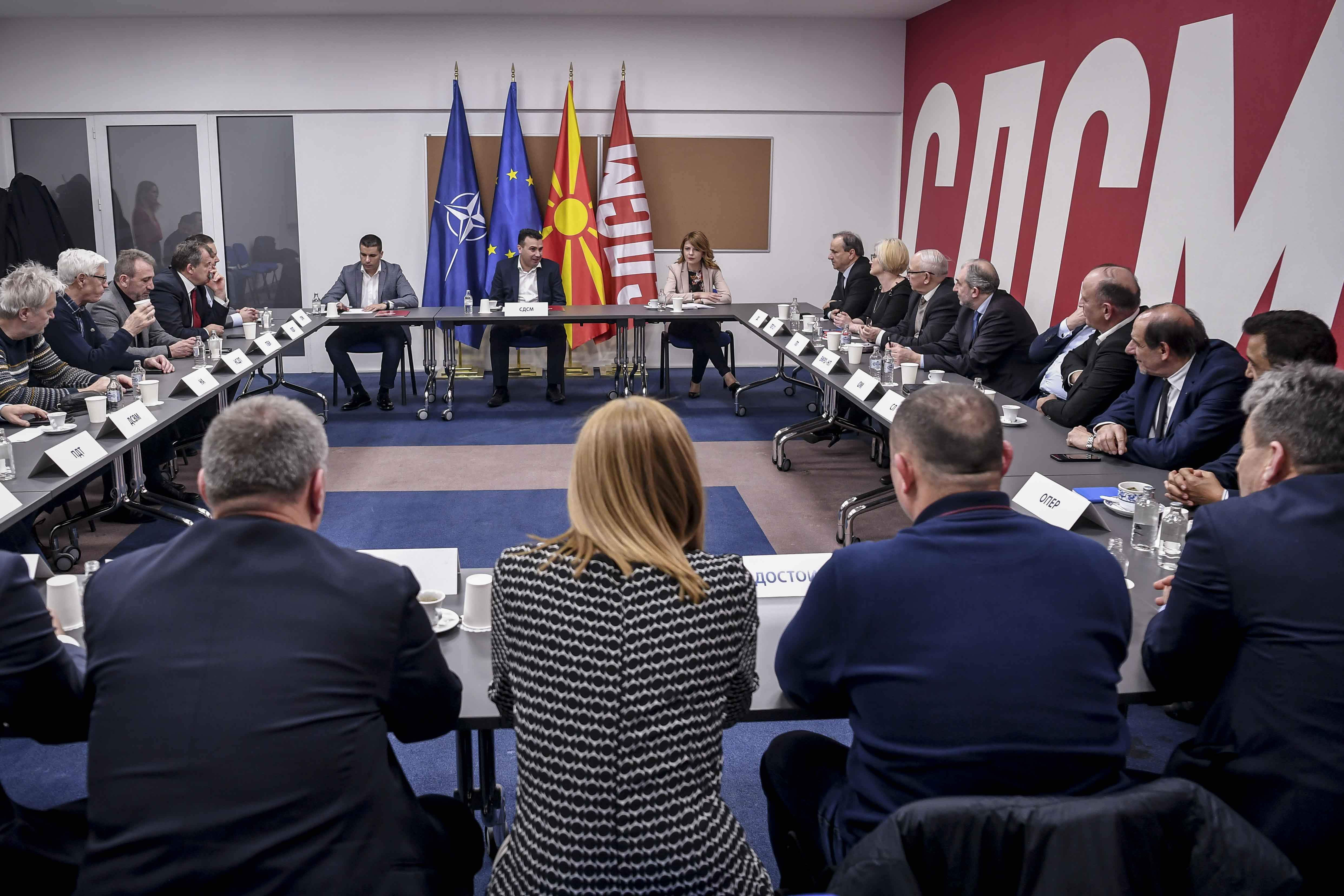 Zaev: Το SDSM εργάζεται για το συμφέρον των πολιτών