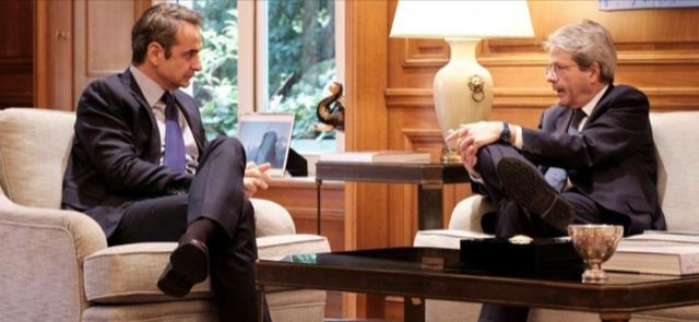 Ελλάδα: Ναι στην προοπτική για άνοιγμα των συζητήσεων για το πρωτογενές πλεόνασμα από Gentiloni