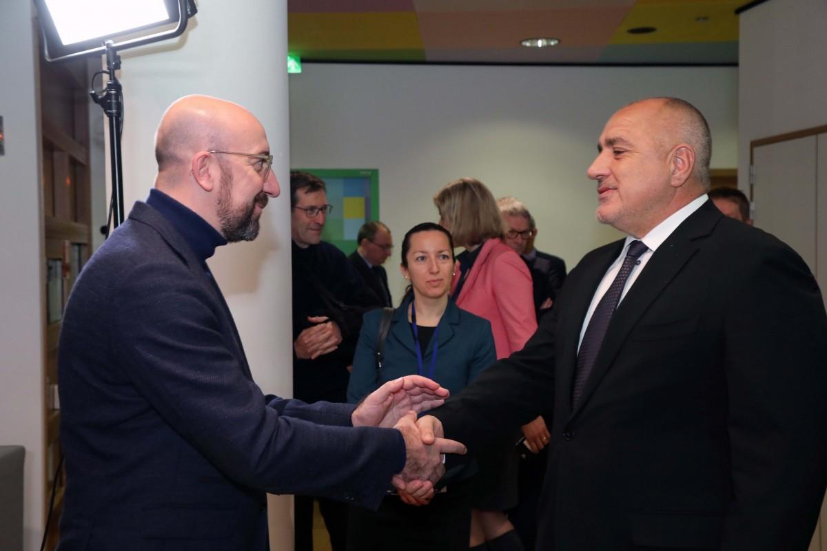 Borissov: Τα κεφάλαια της ΕΕ είναι ο κινητήρας που μας βοηθά να κινηθούμε ταχύτερα