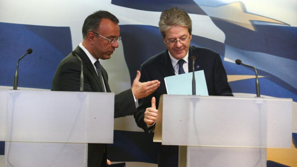 Gentiloni: Ίσως τον Ιούνιο η αλλαγή χρήσης ANFA's και SMP's