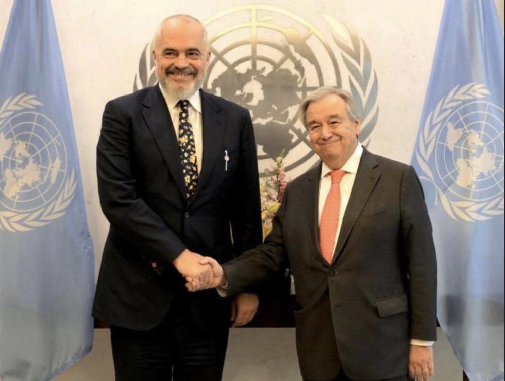 Συνάντηση Rama-Guterres