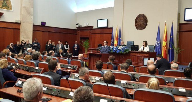 Βόρεια Μακεδονία: Επικυρώθηκε το Πρωτόκολλο ένταξης στο ΝΑΤΟ με 114 ψήφους