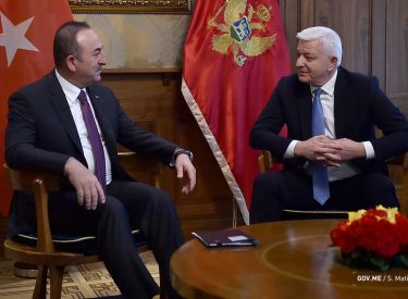 Çavuşoğlu: Η Τουρκία και το Μαυροβούνιο διατηρούν εξαιρετική συνεργασία