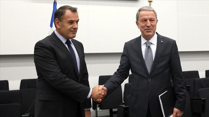 Διατήρηση των διαύλων επικοινωνίας συμφώνησαν οι ΥΠ.ΑΜ Ελλάδας Τουρκίας